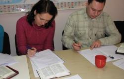 Szkolenie w biurze BSM