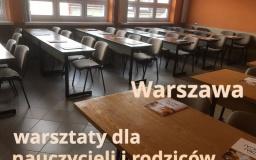Zmiana terminu warsztatów w Warszawie